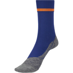 Falke RU4 Calze da corsa Uomo, blu/grigio